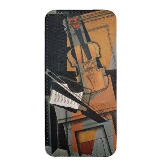 El violín, 1916 funda acolchada para iPhone
