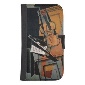 El violín, 1916 fundas billetera de galaxy s4