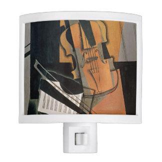 El violín, 1916 luz de noche
