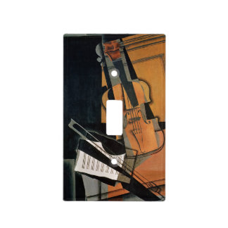 El violín, 1916 placas para interruptor