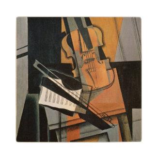El violín, 1916 posavasos de arce