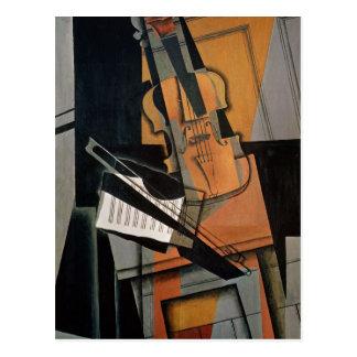 El violín, 1916 postales