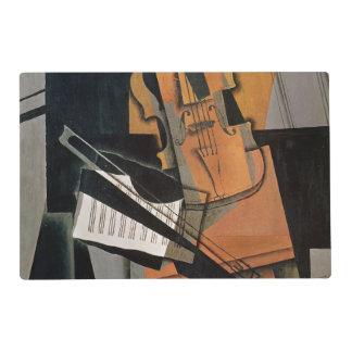 El violín, 1916 salvamanteles
