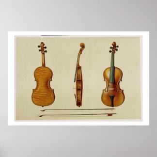 El violín de Hellier hecho por Antonio Stradivariu Impresiones