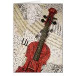 El violín rojo felicitación