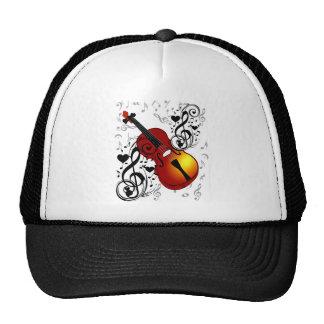 El violinista, oscila el House_ Gorros Bordados
