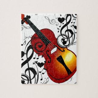 El violinista, oscila el House_ Rompecabeza Con Fotos
