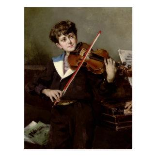 El violinista postal