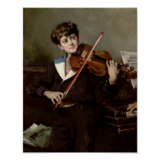 El violinista póster