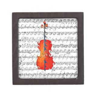 ¡El violoncelo y yo oscilamos! _ Cajas De Recuerdo De Calidad
