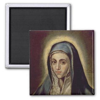 El Virgen María, c.1594-1604 Iman Para Frigorífico