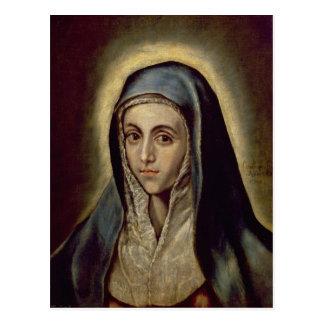 El Virgen María, c.1594-1604 Tarjeta Postal