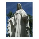El Virgen María Postal