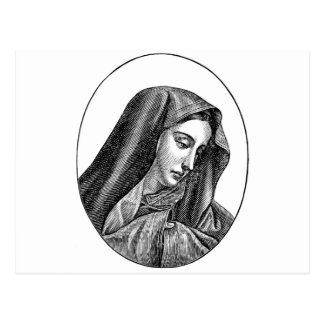 El Virgen María Tarjeta Postal