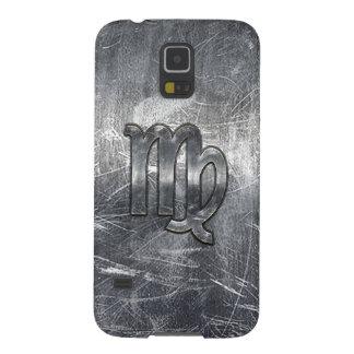 El virgo firma adentro estilo apenado Grunge Carcasa Galaxy S5