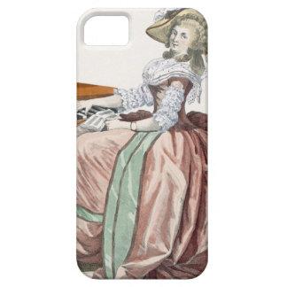 """El Virtuosa en un vestido """"un l'Anglaise"""" con una  iPhone 5 Funda"""