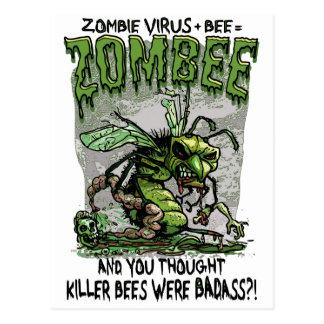 El virus del zombi añade los iguales Zombee de la Postales