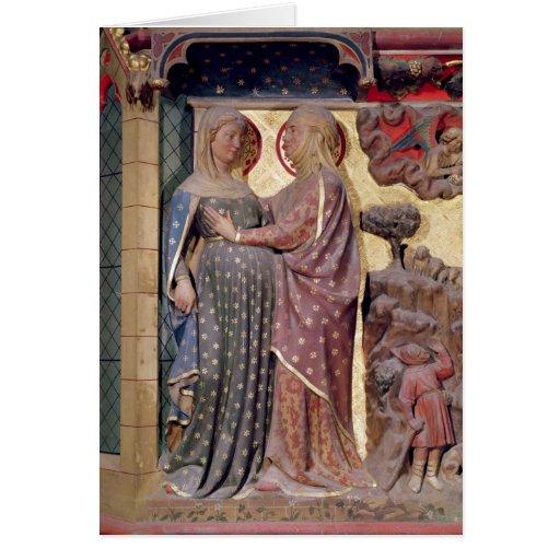 El Visitation, 1340-51 Felicitacion