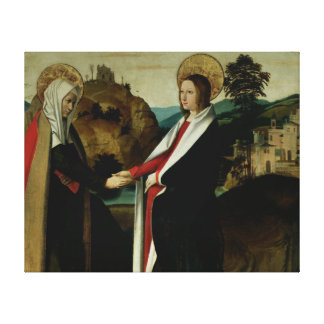 El Visitation, c.1500 Impresión En Lienzo
