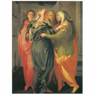 El Visitation - Jacopo DA Pontormo Adorno Fotoescultura