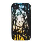 El vitral de la naturaleza iPhone 4/4S carcasas