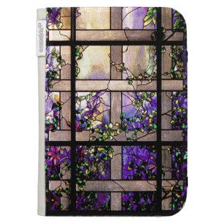 El vitral de Nouveau del arte enciende la caja