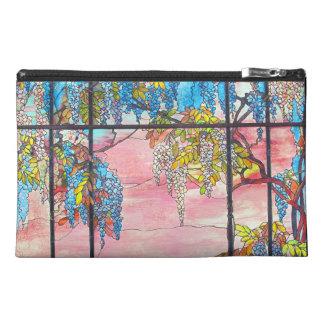 El vitral de Nouveau del arte florece el bolso