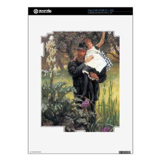 El viudo de James Tissot Calcomanía Para El iPad 2