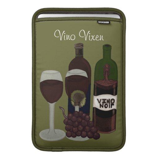 El Vixen del vino - (la belleza en la botella) Funda Macbook Air