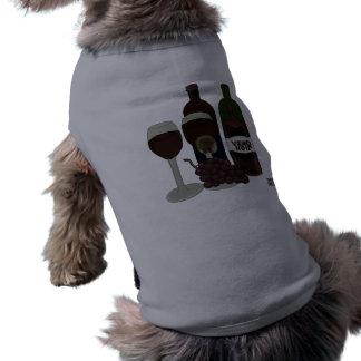 El Vixen del vino - (la belleza en la botella) Playera Sin Mangas Para Perro