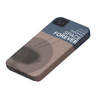 El volar a través de espacio carcasa para iPhone 4 de Case-Mate