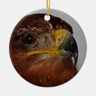 El volar arriba hasta mí puedo tocar el cielo adorno navideño redondo de cerámica