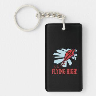 El volar arriba llavero