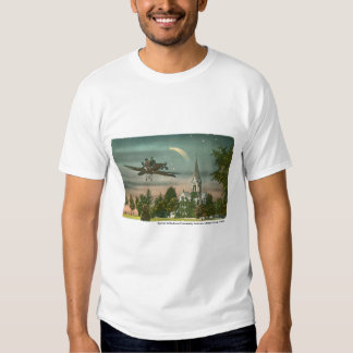 El volar arriba sobre capilla vieja camisas