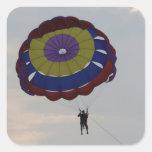 El volar con un parasail