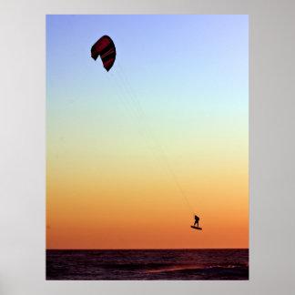 El volar libremente impresiones
