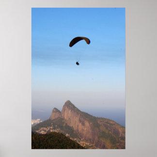 El volar sobre Río Póster