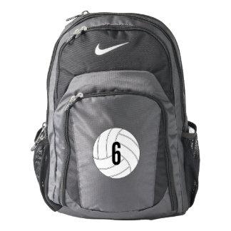 El voleibol adaptable Nike hace excursionismo Mochila