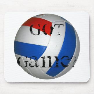 El voleibol consiguió el juego Mousepad
