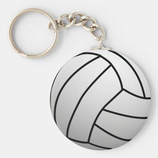 El voleibol de encargo se divierte el producto llaveros personalizados