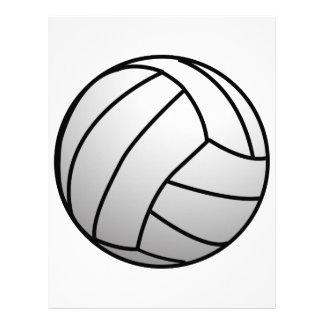 El voleibol de encargo se divierte el producto membrete personalizado