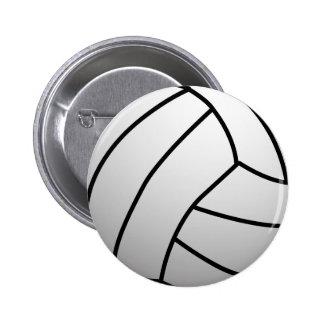 El voleibol de encargo se divierte el producto pins