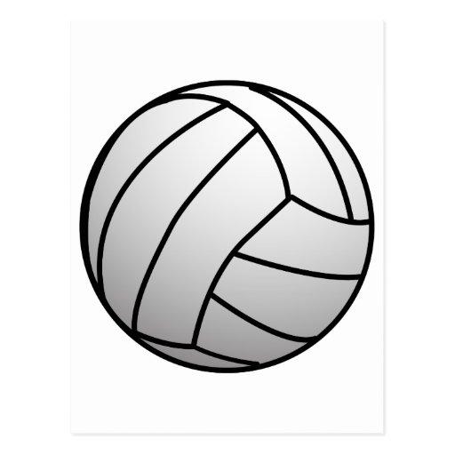 El voleibol de encargo se divierte el producto tarjeta postal