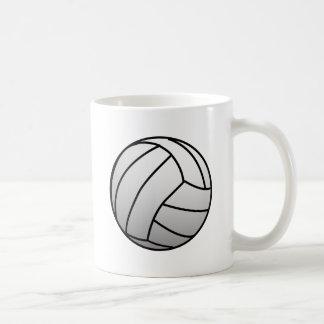 El voleibol de encargo se divierte el producto taza clásica
