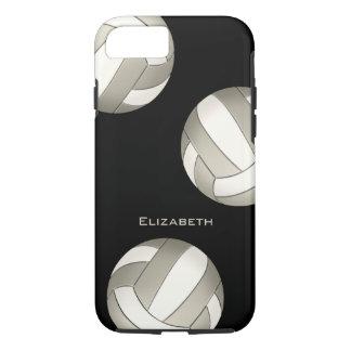 el voleibol de las mujeres blancas del platino funda iPhone 7