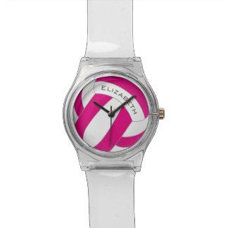 el voleibol de las mujeres cualquier color relojes