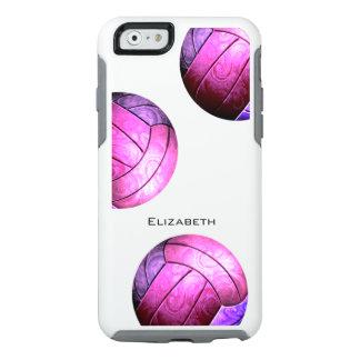 el voleibol de las mujeres púrpuras de las rosas funda otterbox para iPhone 6/6s