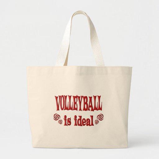 El voleibol es ideal bolsa de mano