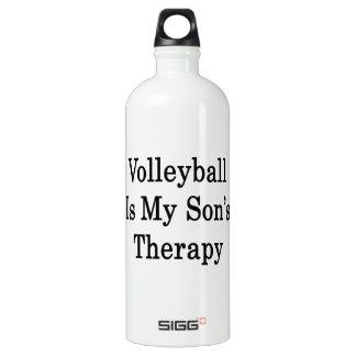 El voleibol es la terapia de mi hijo