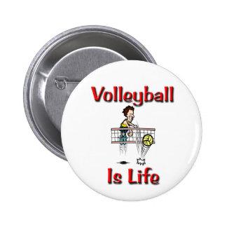 El voleibol es vida pins